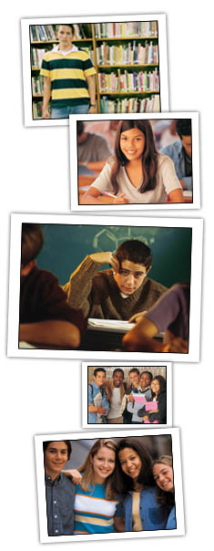 Photo Montage of Students