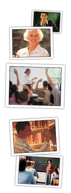 Photo Montage of Teachers